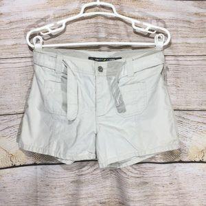 DKNY jeans size 4 khaki pocket jean with tie 539